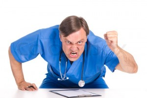 angry doctor portrait, Dr Keefe, Keefe Clinic, Natural Health Care, Tulsa Chiropractor, Diet, Pain,