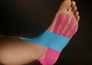foot_kinesio, Dr Keefe,  Natural Health care, pain, Tulsa chiropractor,