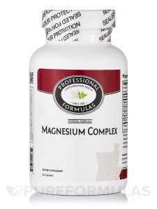 magnesium-complex-Dr. Keefe, Keefe Clinic. Tulsa Chiropractor, pain, natural health care.-capsules-by-professional-formulas